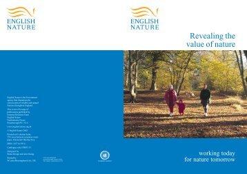 Revealing the value of nature - FreshwaterLife