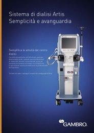 Sistema di dialisi Artis Semplicità e avanguardia - Gambro