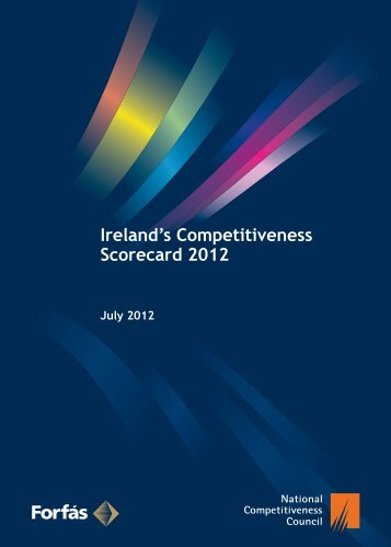 Ireland's Competitiveness Scorecard 2012 - The National ...
