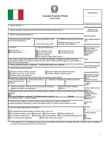 Consolato Generale d'Italia New York