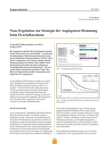 Neue Ergebnisse zur Strategie der Angiogenese-Hemmung beim ...