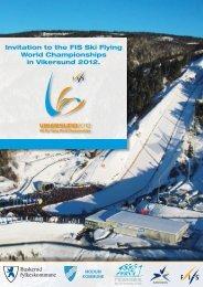 Invitation to the FIS Ski Flying World Championships in Vikersund ...