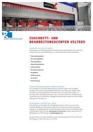 Zuschnitt- unD BEARBEitungscEntER ViltERs - Gasser ...