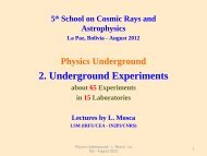 Physics Underground
