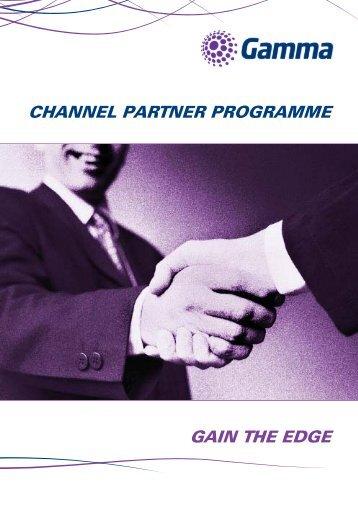 CP Programme brochure - Gamma