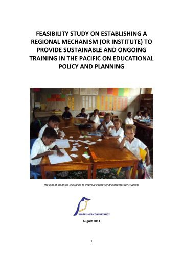 FEASIBILITY STUDY ON ESTABLISHING A REGIONAL MECHANISM (OR ...