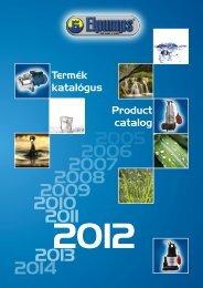 ELPUMPS 2012-es katalógus