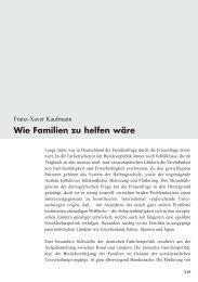 Franz Xaver Kaufmann: Wie Familien zu helfen wäre - frauennrw.de