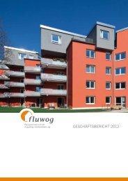Geschäftsbericht 2012 (.pdf) - der Baugenossenschaft - FLUWOG ...