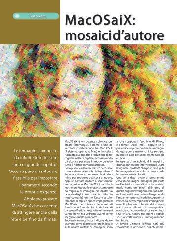MacOSaiX: mosaici d'autore - Fotografia.it