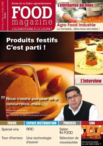 Produits festifs C'est parti ! - FOOD MAGAZINE