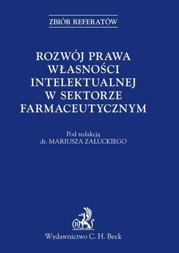 rozwój prawa własności intelektualnej w sektorze ... - Gandalf