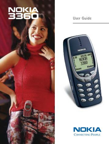 Nokia 3360 User's Guide
