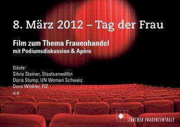 8. März 2012 – Tag der Frau - Frauenzentralen