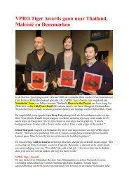 VPRO Tiger Awards gaan naar Thailand, Maleisië en ... - FKC