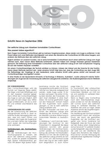 09_September 2006.pdf - Galifa Contactlinsen AG