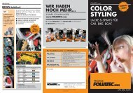 COLOR STYLING - Foliatec
