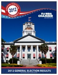 2012 general election results - Florida Chamber of Commerce