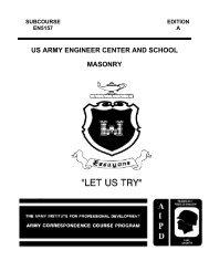 us army engineer center and school masonry - Modern Prepper