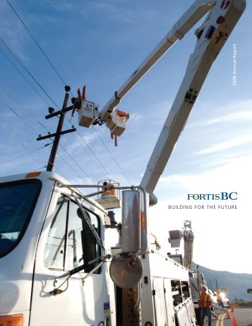 2008 Annual Report - FortisBC