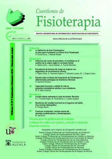 revista cuestiones de fisioterapia 35