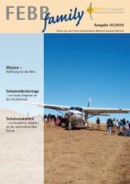 family Ausgabe 01/2010 Mission - Freie Evangelische ...