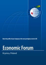 Krynica, Poland - Economic Forum