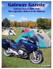 October - Gateway Riders Index
