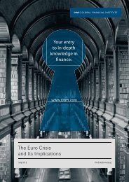 The Euro Crisis and Its Implications - Financial Risk and Stability ...