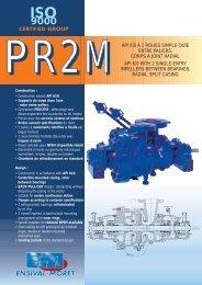 Feuillet PR2M - Ensival-Moret Industrial Pumps