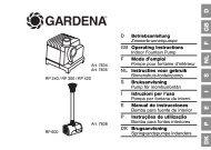 OM, Gardena, Pompe pour fontaine d'intérieur, Art 07834-20, Art ...