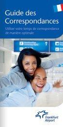 Guide des Correspondances - Frankfurt Airport