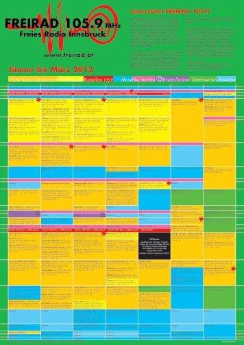 Jänner bis März 2013 - Freirad