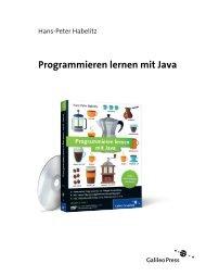 Programmieren lernen mit Java (PDF) - Galileo Computing