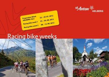 Racing bike weeks