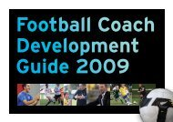 NZF Coach Development Guide 2009 - Football South