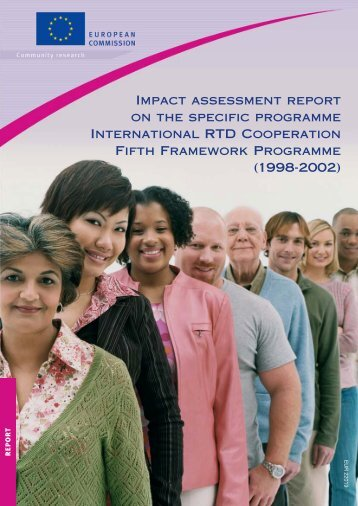 Impact assessment report on the specific programme ... - Europa