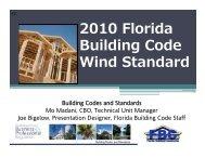 2010 Florida Building Code Wind Standard - Southeast Glass ...