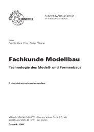 Fachkunde Modellbau - Europa-Lehrmittel