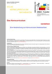 Das Kerncurriculum verstehen ATLAS KERNCURRICULUM ... - nline