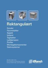 Gældene Rektangulært galv. prisliste fra okober 2012 - Øland Online