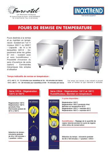 Fours Chambre 1100 C