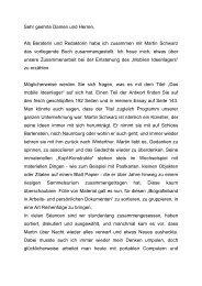 Buchvernissage - Galerie Weiertal