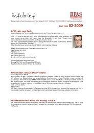 Infobrief 2-2009 - BFAS