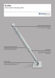XL-Lifter Flyer - Framo Morat