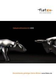 Deutschlands günstiger Online-Broker www ... - flatex Holding AG