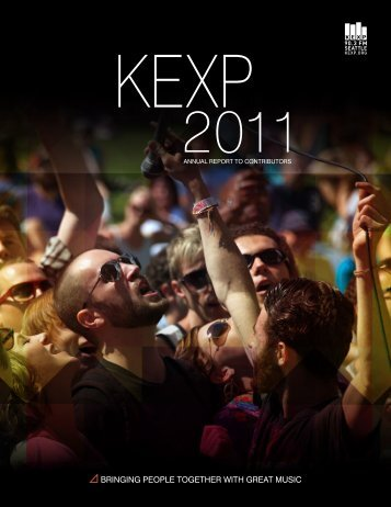 2011 Annual Report without video - KEXP