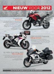 nieuw voor 2012 - Honda