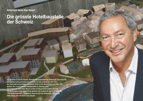 Die grösste Hotelbaustelle der Schweiz - Hotel & Gastro Union