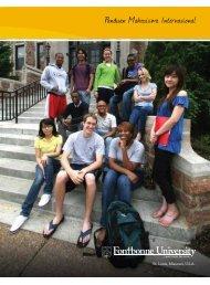 Panduan Mahasiswa Internasional - Fontbonne University
